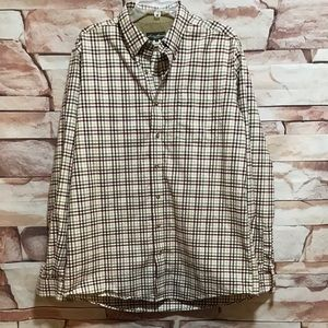Eddie Bauer Long Sleeve plaid shirt